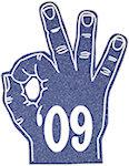 16 inch Okay Hand